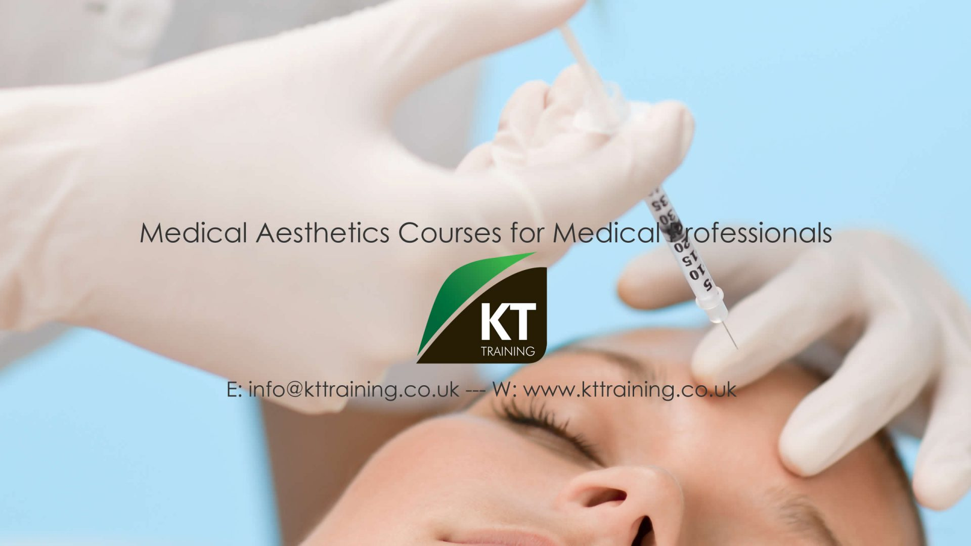 Cosmetic Treatments for Training Courses